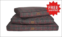 Grey Stewart Tartan Plaid Pet Napper Bed