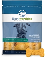 Barkworthies Pumpkin Cannabidiol Treats