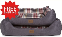 Breslin Plaid Kuddler Bed
