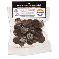 Fresh Is Best Freeze Dried Duck Giblet Rounds