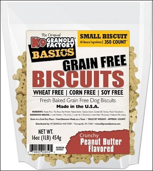 K9 Granola Factory Simply Biscuits (Grain Free)